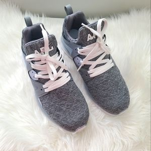 APL Grey Quilted Ascend Techloom Sneakers 9